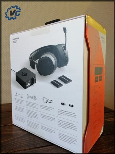 Arctis Pro Wireless -coffret verso