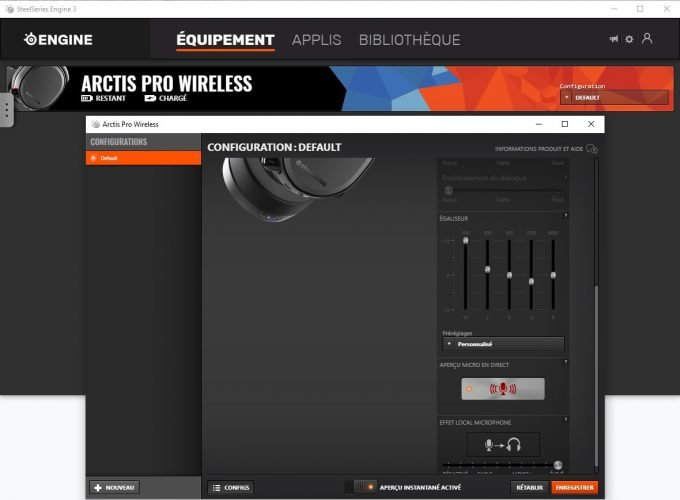 Arctis Pro Wireless - Steelseries Engine