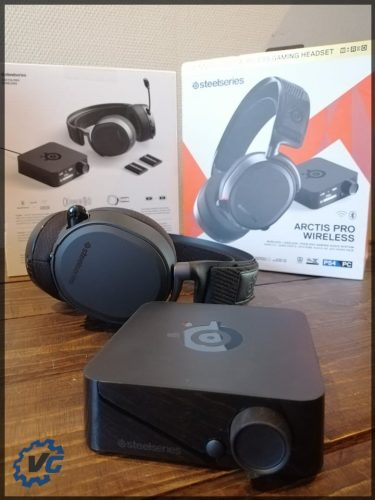 Arctis Pro Wireless - vue d'ensemble