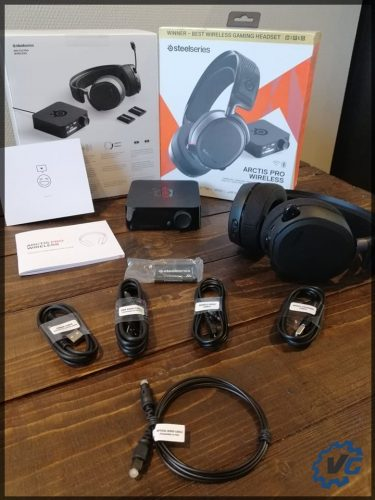 Arctis Pro Wireless -unboxing complet