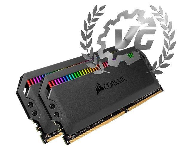 Award Corsair Dominator Platinum RGB 4266 MHz