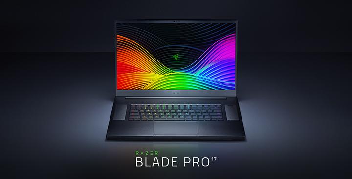 Image promotionnelle du Razer Blade Pro 17