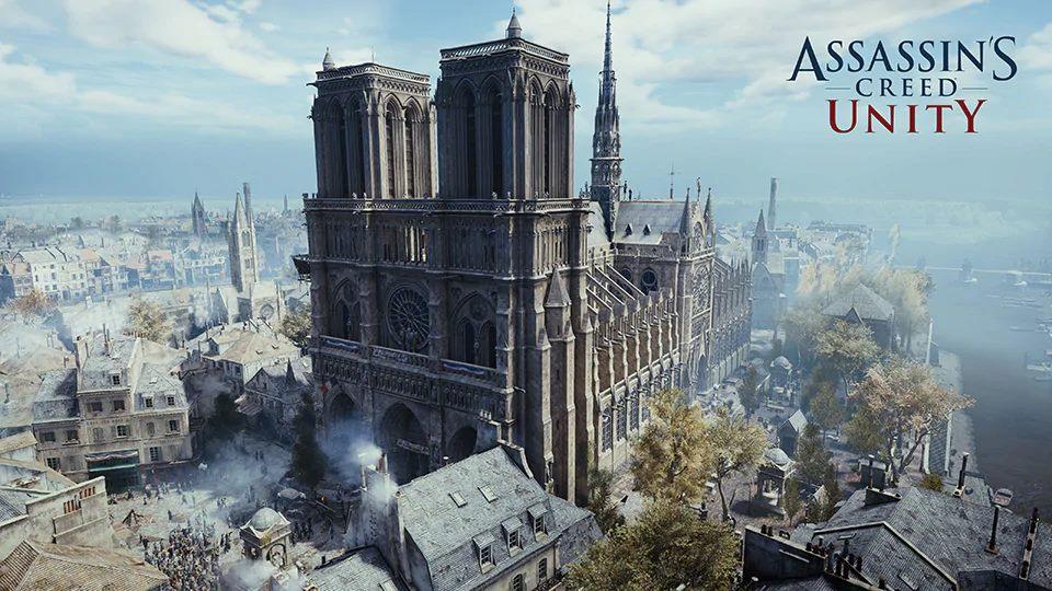 Ubisoft Assassin's Creed Unity Notre Dame