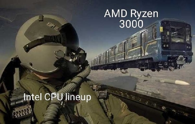 Intel VS AMD Computex 2019