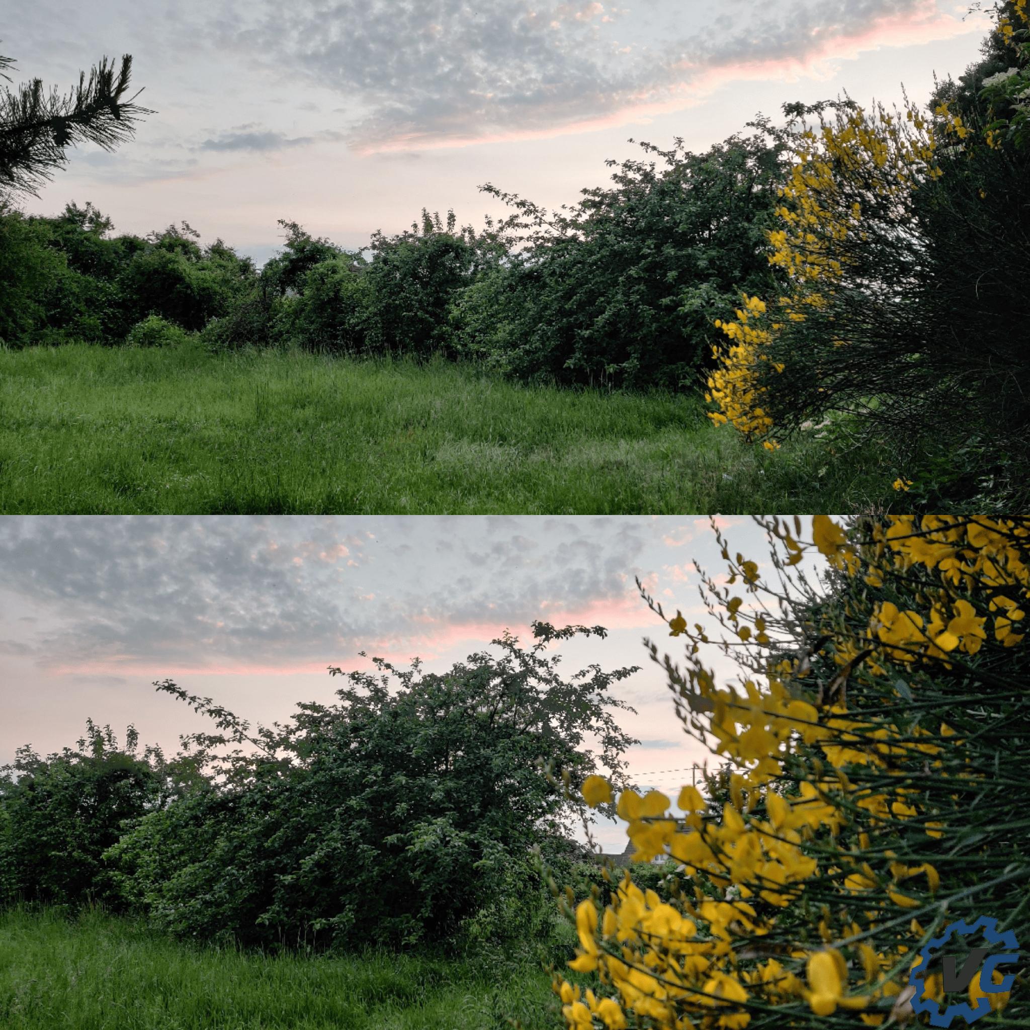 Oneplus 7 pro photo basse luminosité