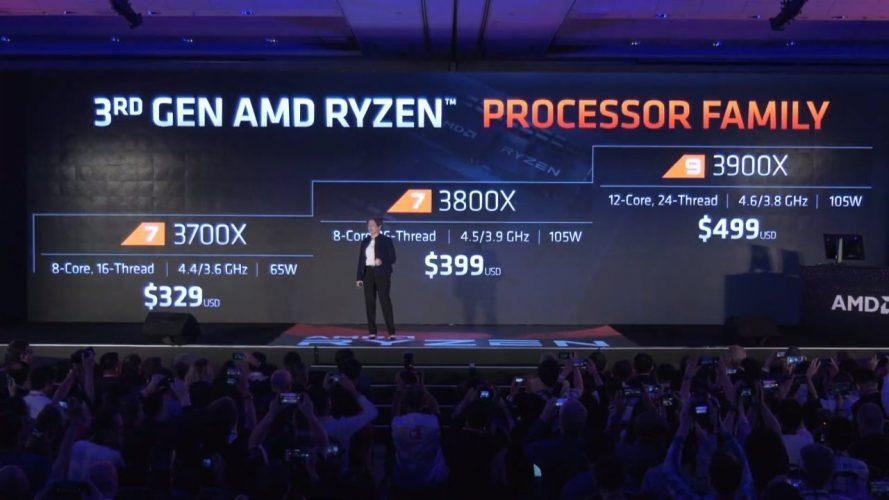 AMD Computex 2019 Prix