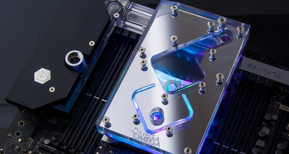 Waterblock Bitspower pour l'Asus Rampage VI Extreme Omega