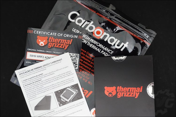 Pad thermique Thermal Grizzly Carbonaut