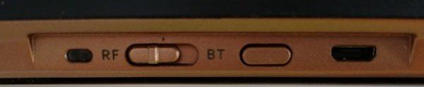 Connectiques du clavier cherry dw 9000 Slim