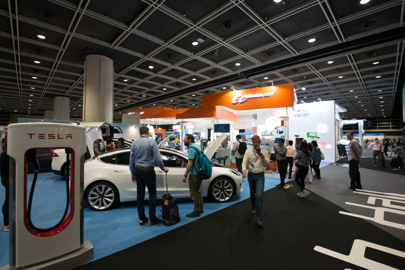 Canton Fair Tesla