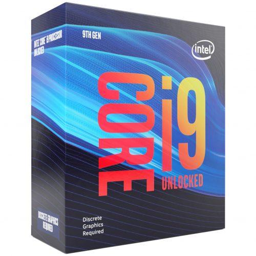 Le i9-9900KF d'Intel avec le iGPU désactivé
