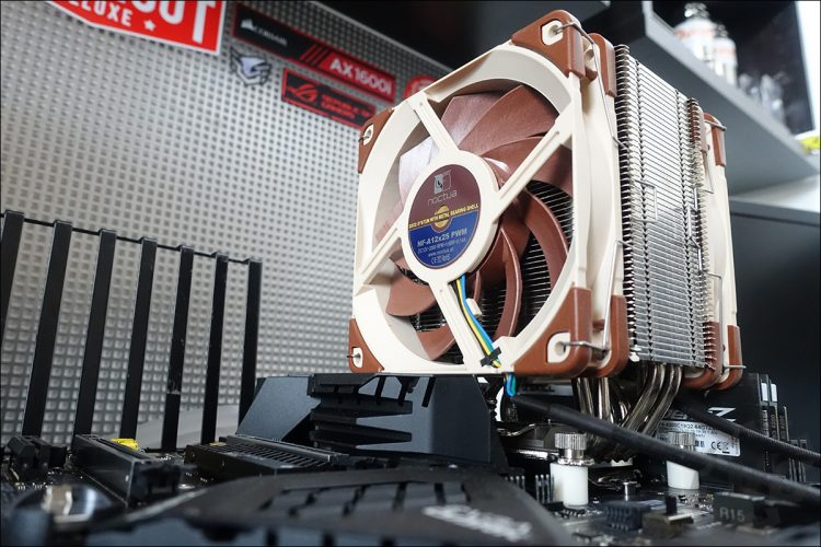 Benchmark et tests avec le Noctua NH-U12A de 120 mm