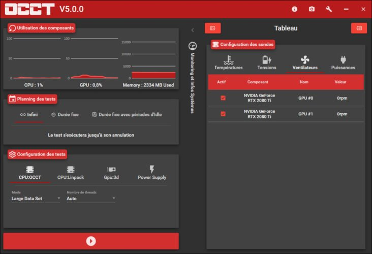 Le logiciel de stabilité OCCT en version5