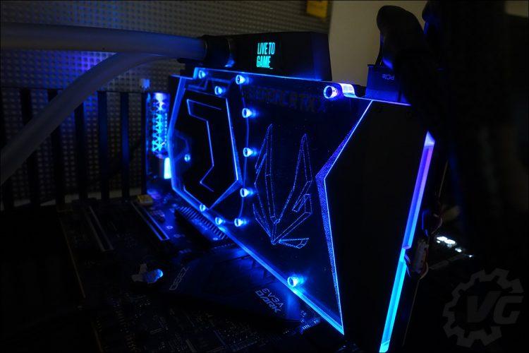 Le RGB de la ZOTAC RTX 2080 Ti ArcticStorm