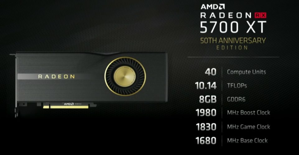 RX 5700 XT
