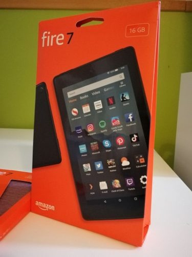 Packaging Amazon Fire 7