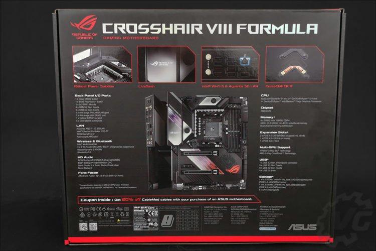 L'Asus Crosshair VIII Formula X570