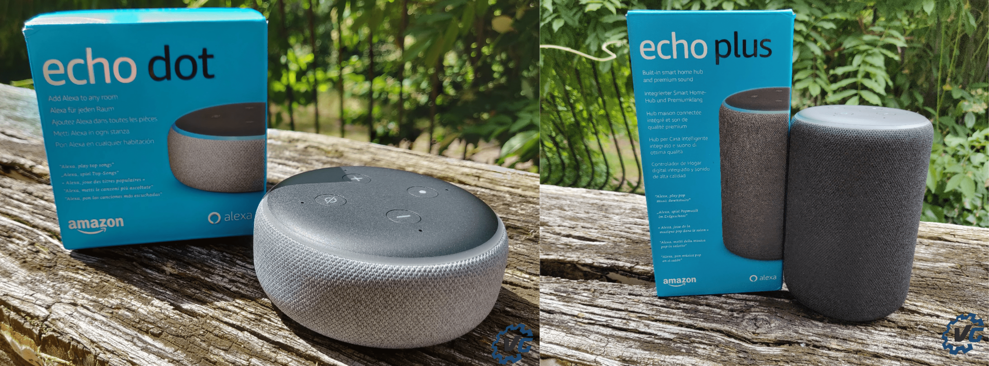 Echo Dot Echo Plus