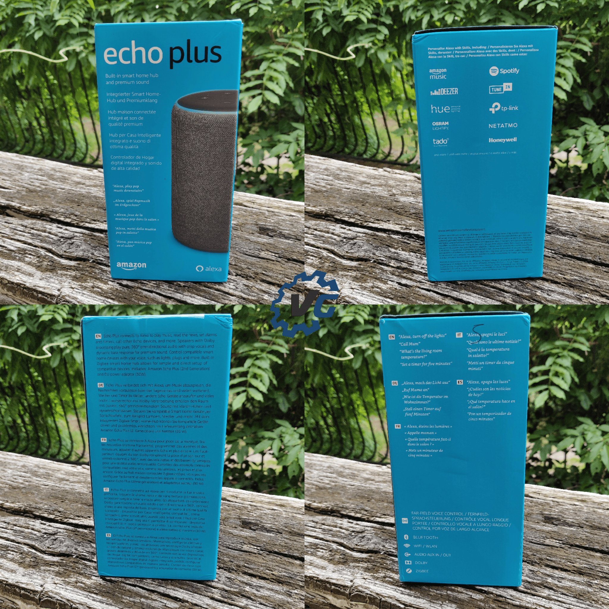 Amazon Echo Plus boîte
