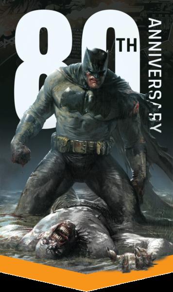 Batman Monolith 80 ans