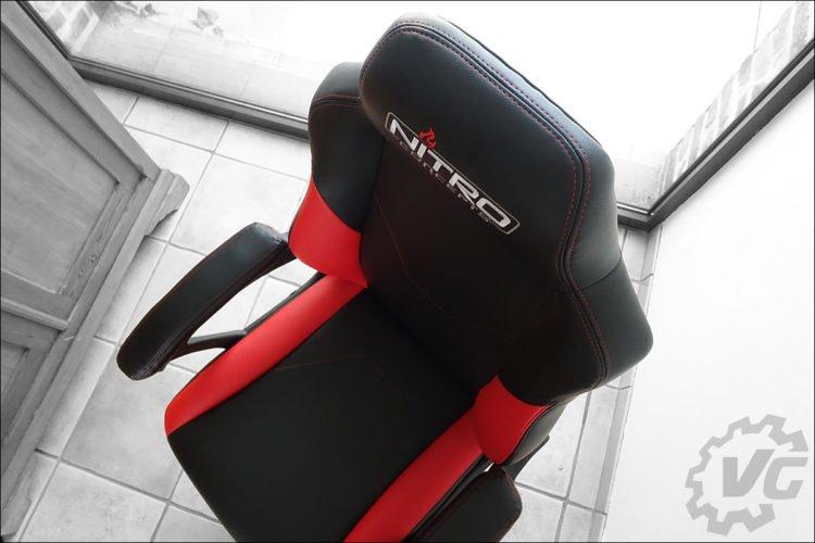 Le siège gaming C100 de Nitro Concepts