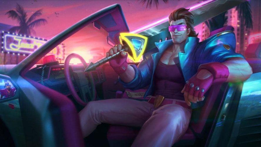 skin demacia vice garen événement arcade ultracombo league of legends jeux vidéo vonguru