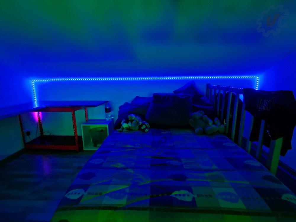 Setup illuminer par le bandeau DreamColor