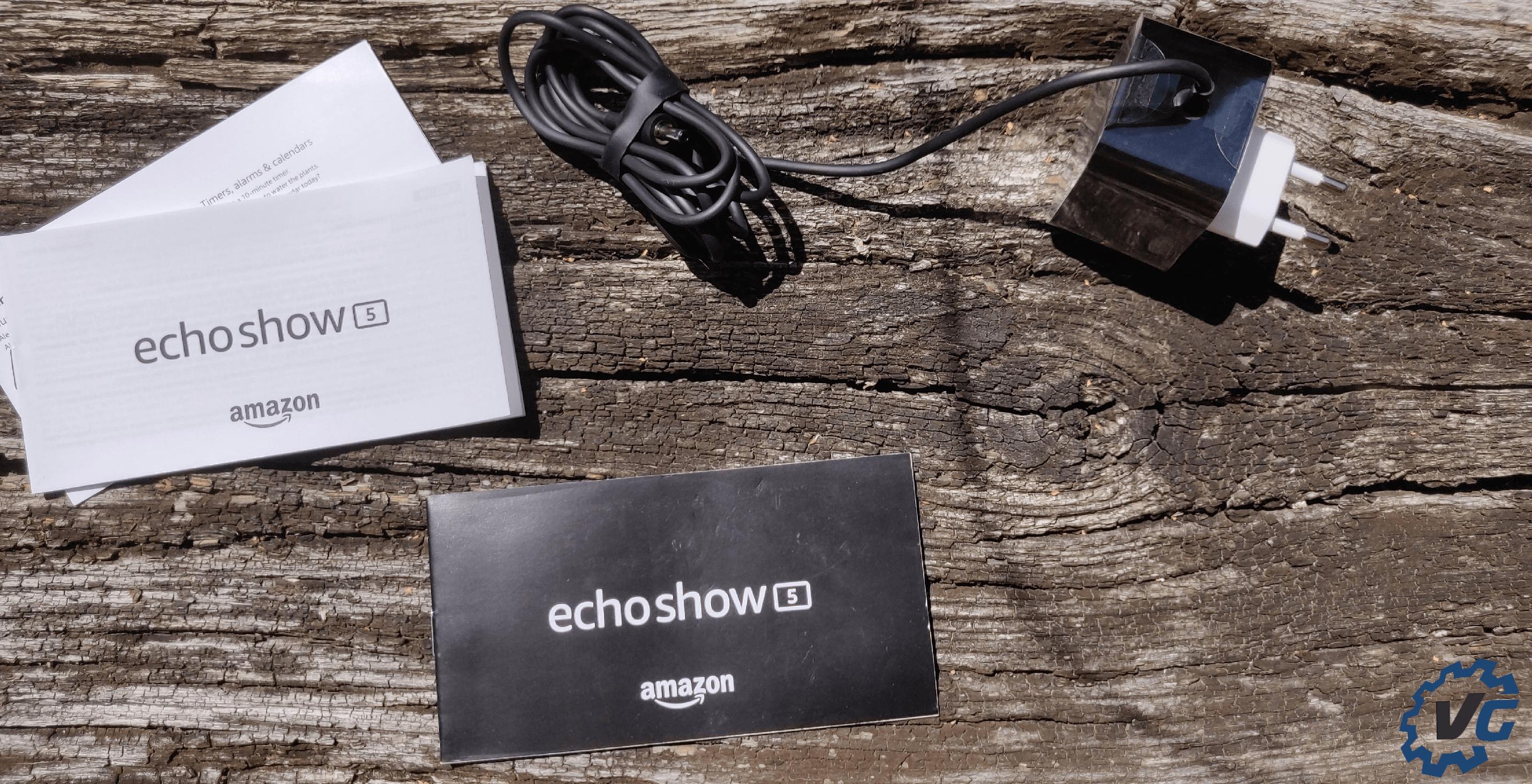 Echo show 5 contenu