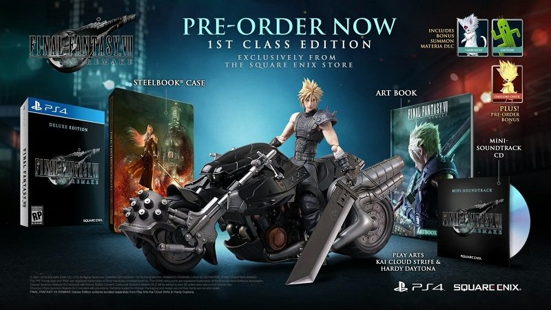 édition collector final fantasy 7 remake