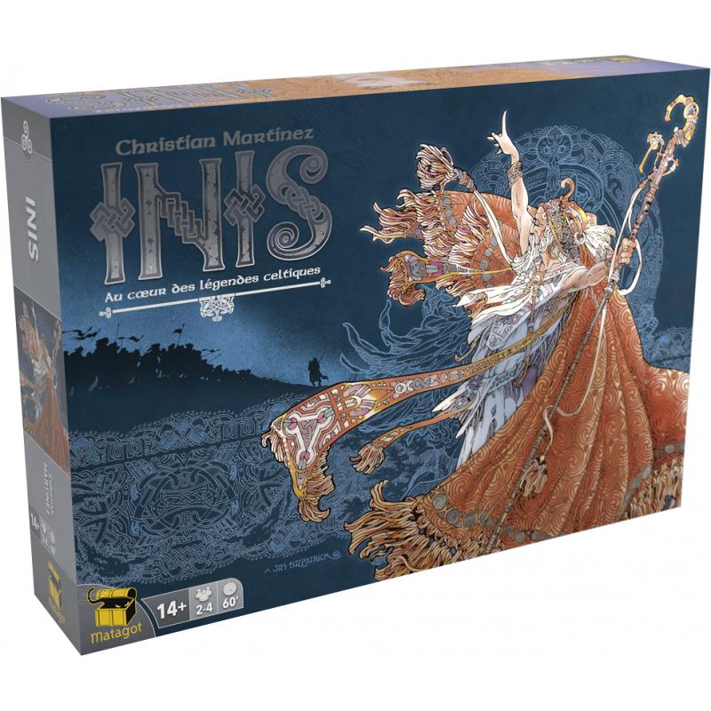 Inis – la lutte somptueuse pour le titre d'Ard-Ri des terres