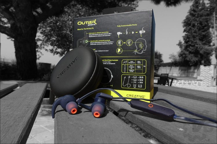 Ecouteurs intra-auriculaires Creative Outlier Sports