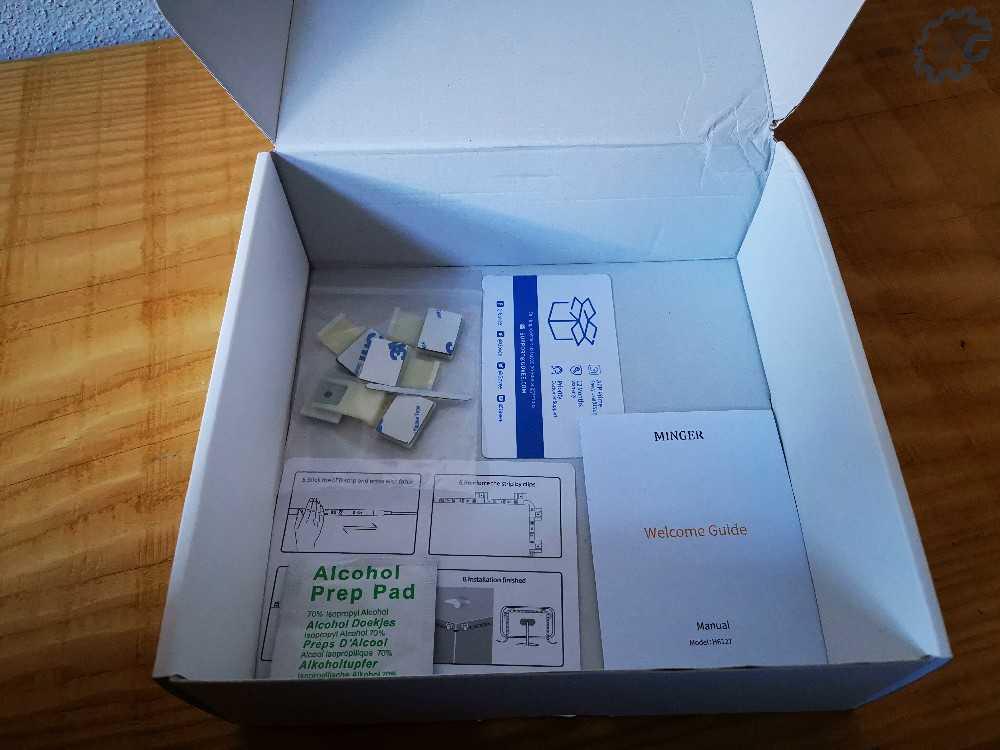 Intérieur du carton
