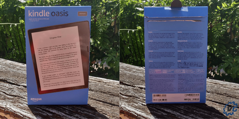 liseuse kindle Oasis Amazon boîte