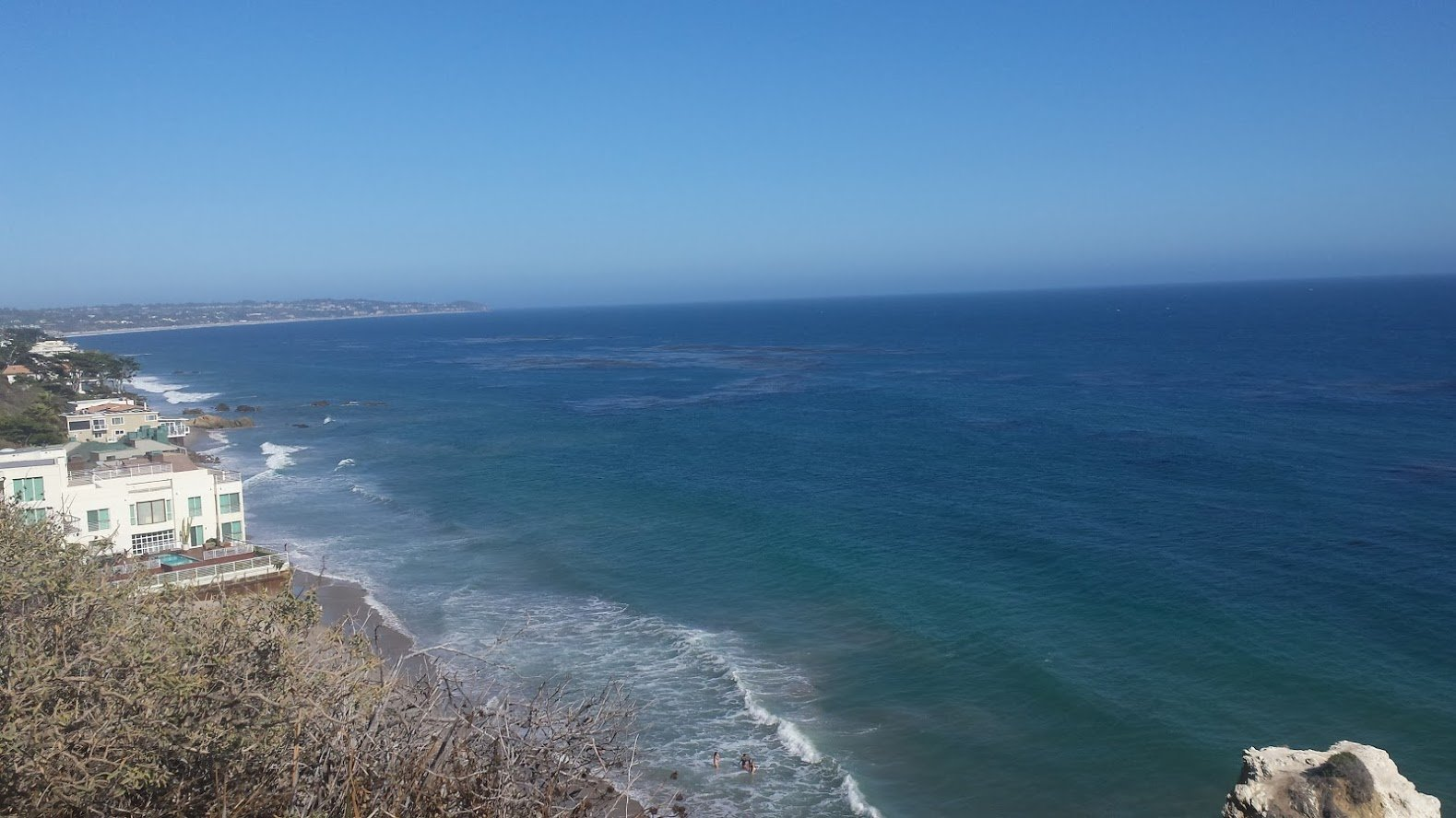 Road Trip in USA beach