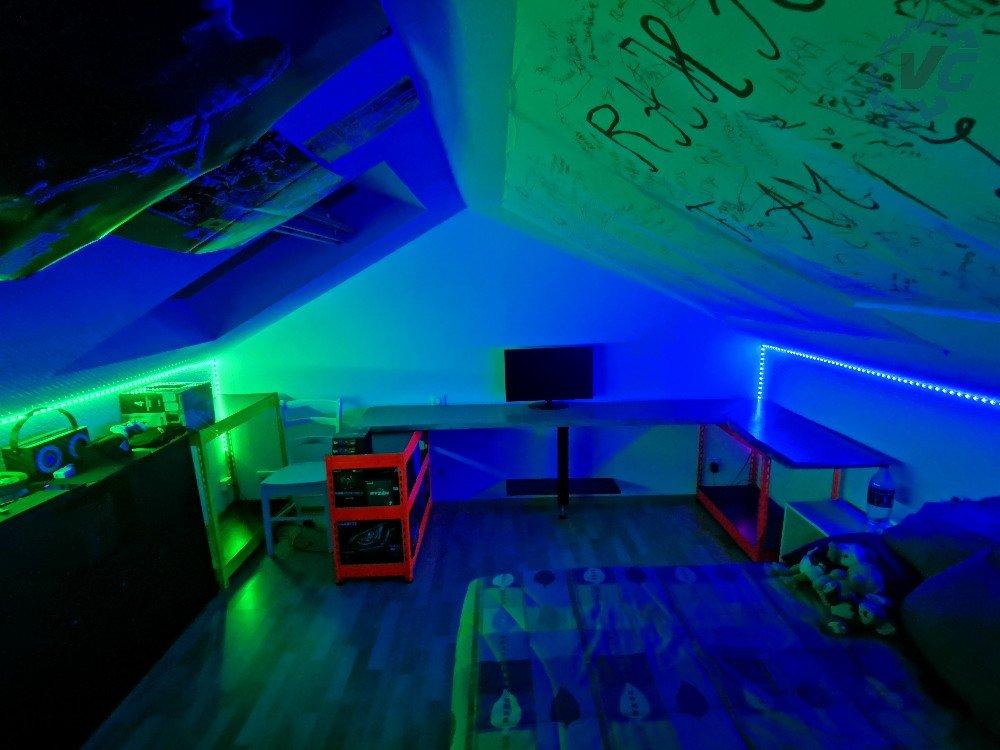 setup de nuit Dreamcolor