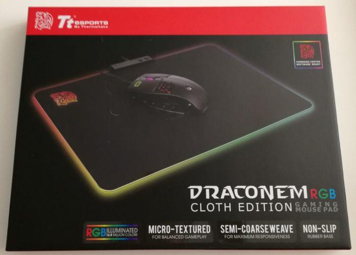 Tapis de souris Draconem RGB