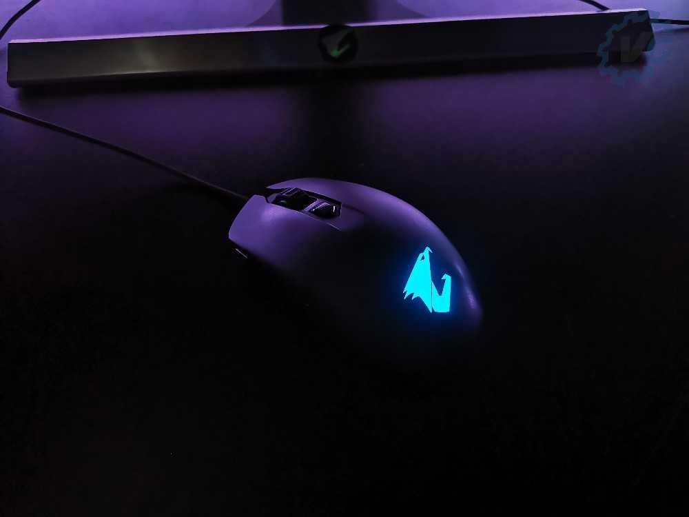 RGB bleu Aorus m2