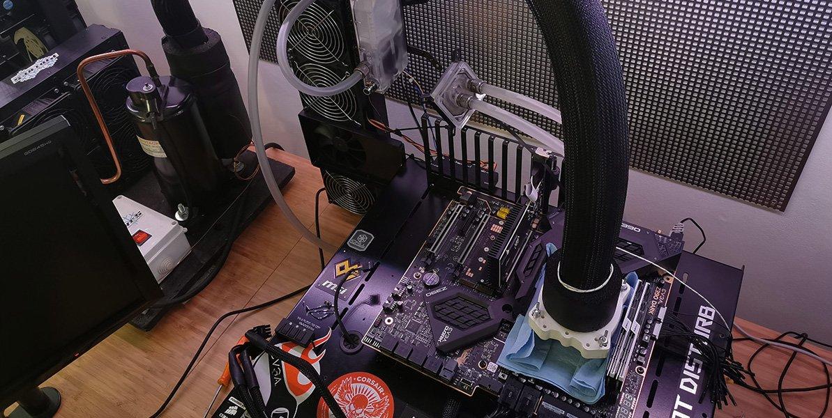 Le i3-9350K en overclocking sous DOD