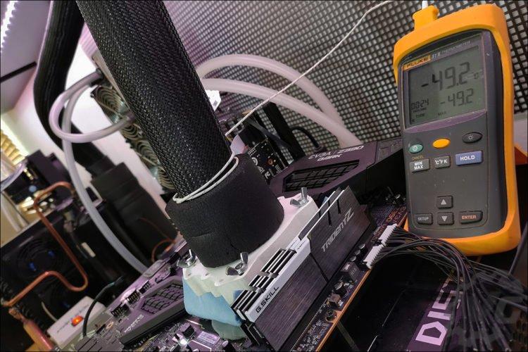 Le i3-9350K sous DOD