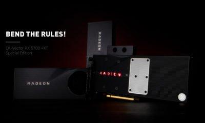 Waterblock EK pour AMD RX 5700 et 5700 XT