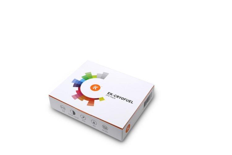 Le kit de colorants EK CryoFuel Dye pack