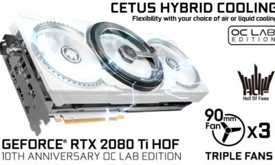 Galax TX 2080Ti HOF 10th Anniversary OC Lab Edition