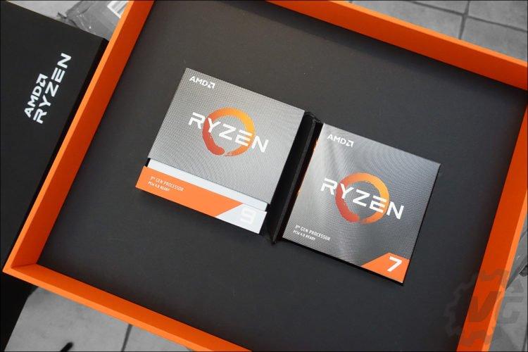 Ryzen 3900X et 3700X