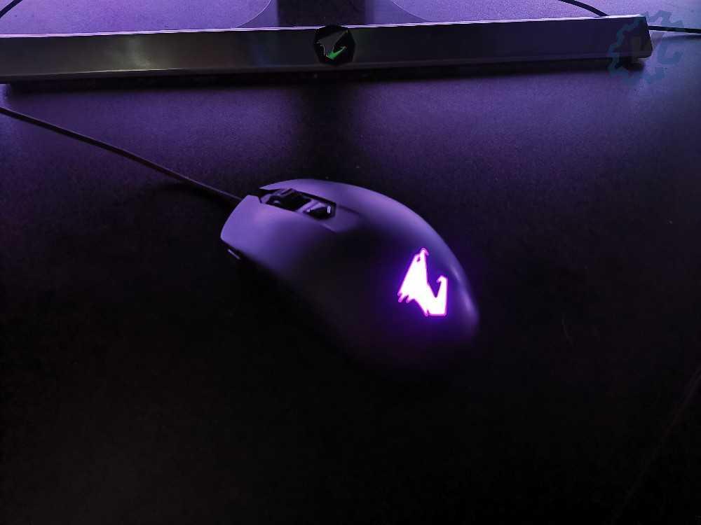 RGB Violet Aorus M2