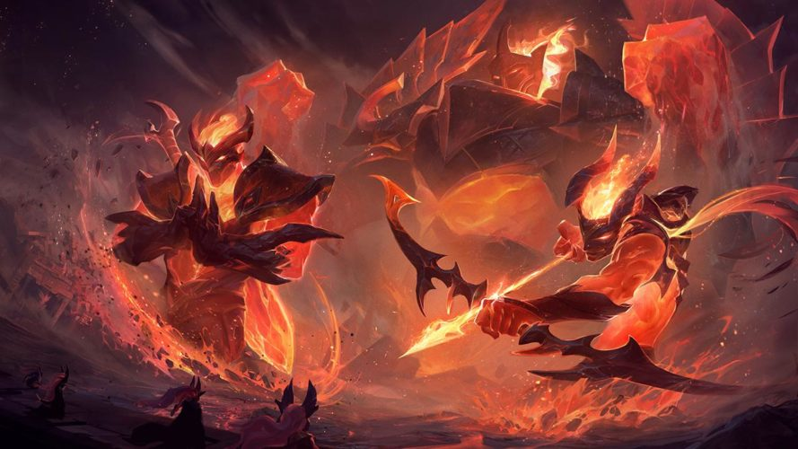 Skin infernal league of legends