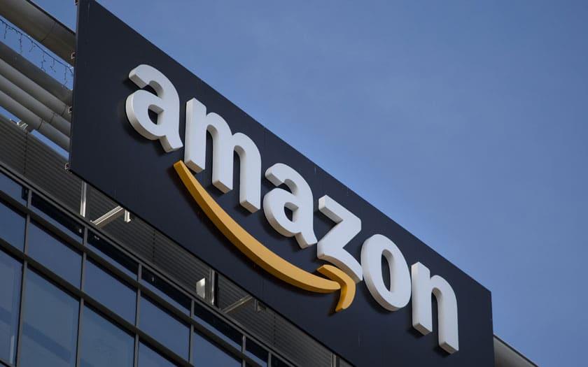 Enseigne Amazon