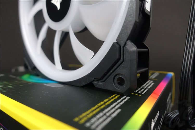 Les ventilateurs LL120 RGB Corsair Hydro X Series