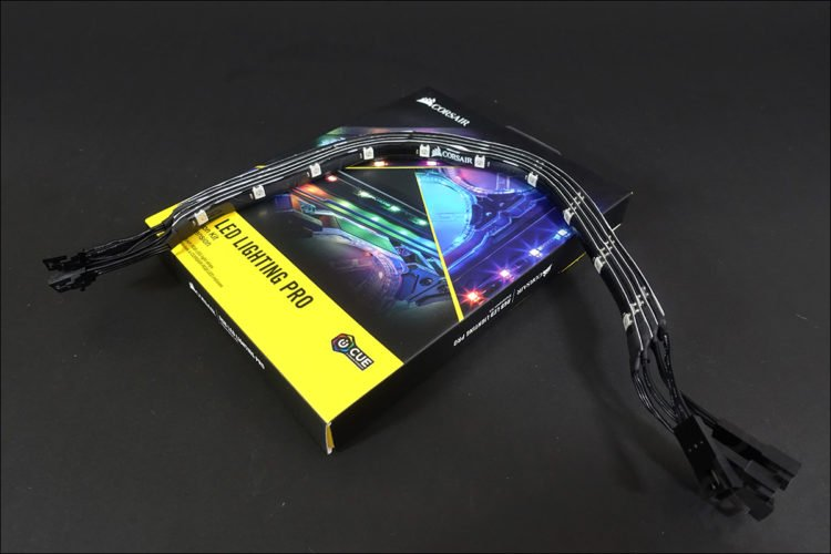 Les bandes de led Corsair Hydro X Series
