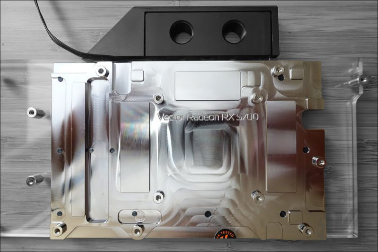 L'instalation du waterblock EK 5700 XT