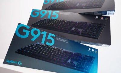 logitech dévoile un clavier bas de profil, mécanique et sans fil, le G915 lightspeed